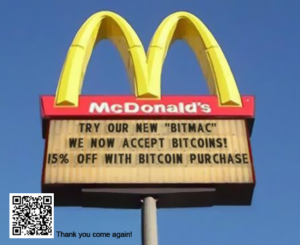 McDonalds to accept Bitcoin by 2018